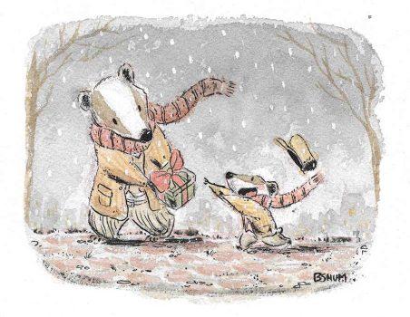 badger christmas