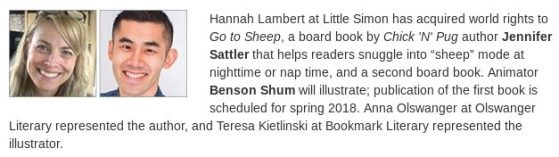 New book announcement! GO TO SHEEP 2019
